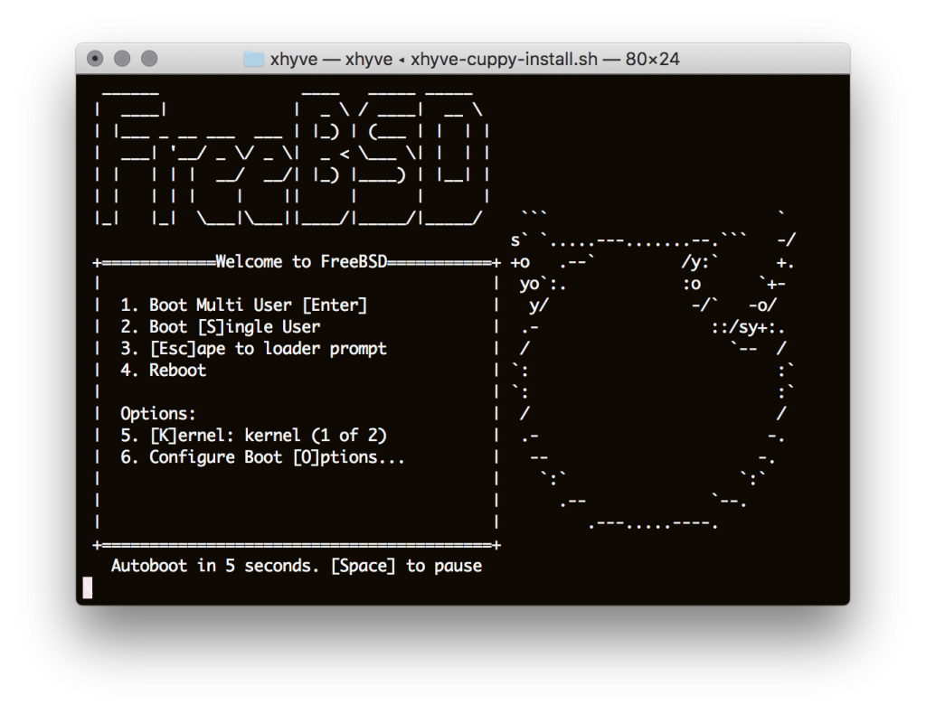 FreeBSD Splash Screen
