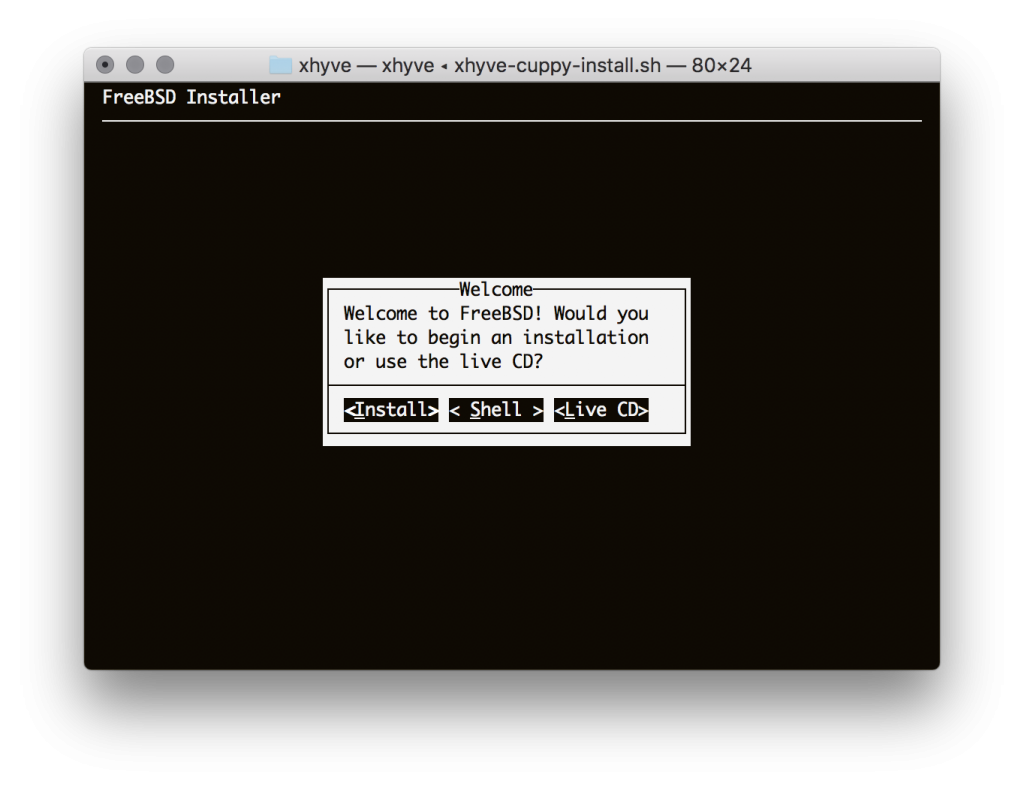 FreeBSD Installer