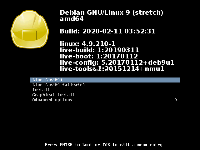 Welcome to Debian